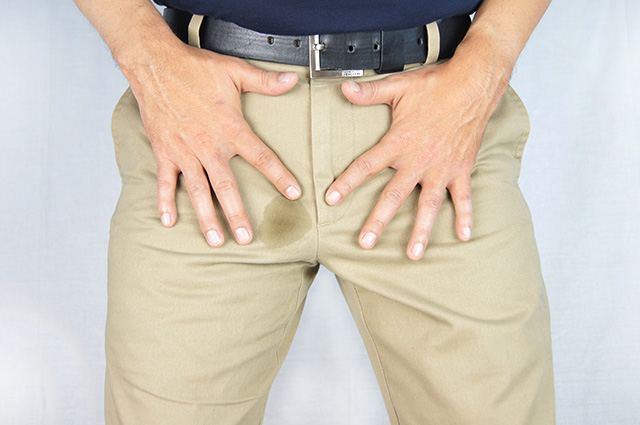 男性の尿もれ